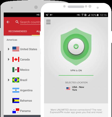 ExpressVNP官网Android应用程序下载