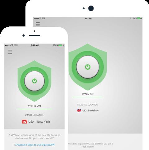 ExpressVNP官网iOS应用程序下载