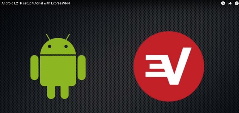 使用L2TP协议在Android设备上手动配置ExpressVNP