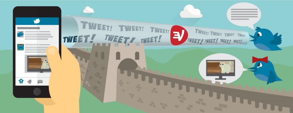 如何使用ExpressVNP访问Twitter