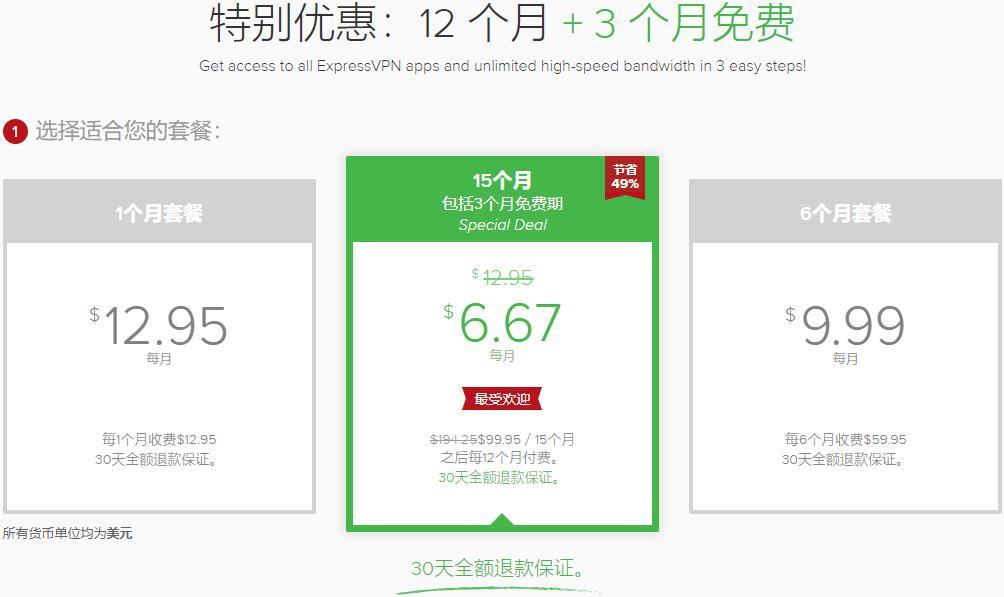 ExpressVNP官网购买教程